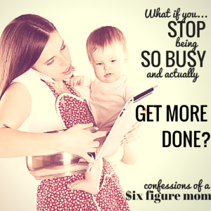 What if you stopped being so busy you could actually get more done